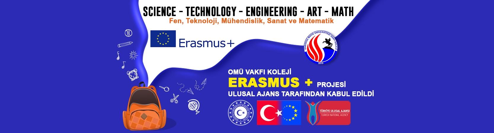 OMÜ Vakfı Koleji'nin STEM Projesi Ulusal Ajans Tarafından Kabul Edildi