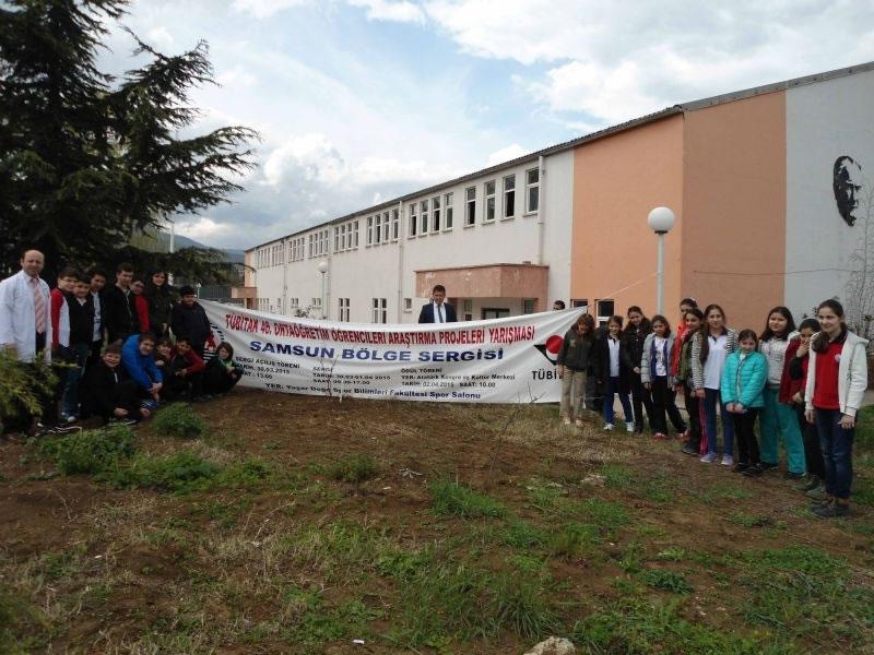 Ortaokul Öğrencilerimiz Proje Sergisinde