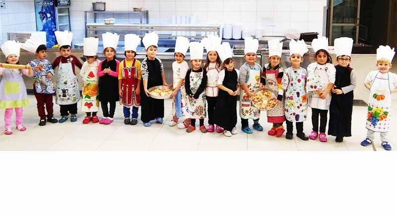 Ana Sınıfı Mutfak Etkinliğinde