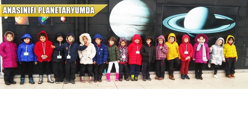 Anasınıfımız Planetaryum'da