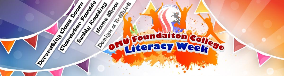 Literacy Week - İngilizce Edebiyat Haftası Festivali