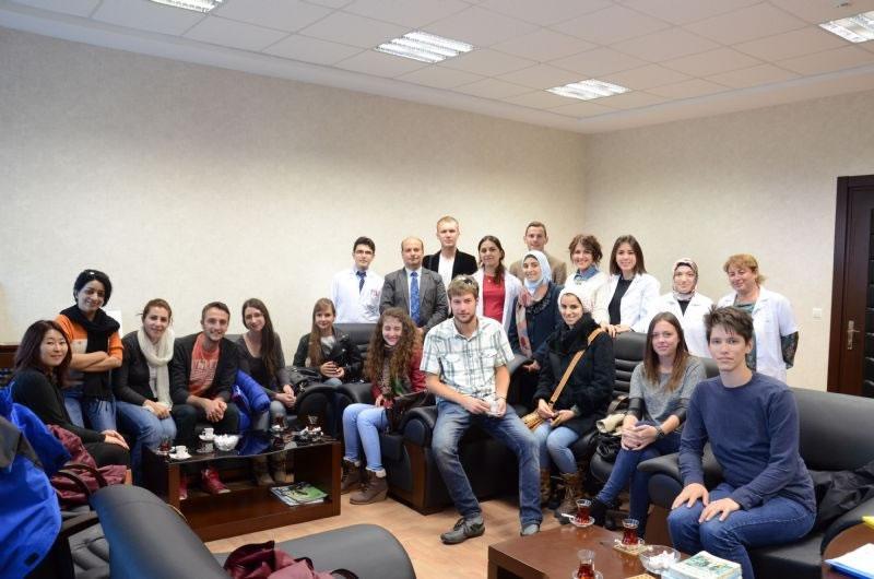 Erasmus Öğrencileri Okulumuzda