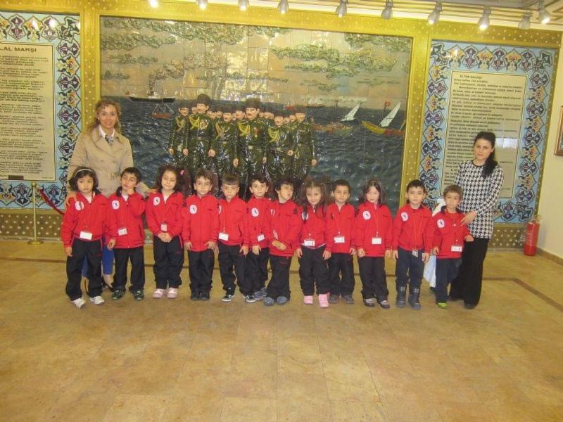 Öğrencilerimiz Gazi Müzesi'nde