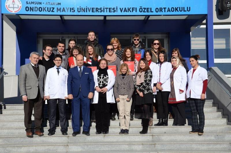 Erasmus Öğrencileri Teşekkür Belgesi Töreni