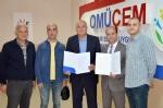 Omüçem - Omü Vakfı Koleji İş Birliği Protokolü İmzalandı